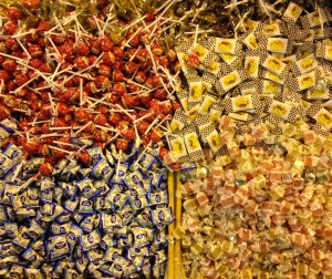 Candies, these are a must during these days.