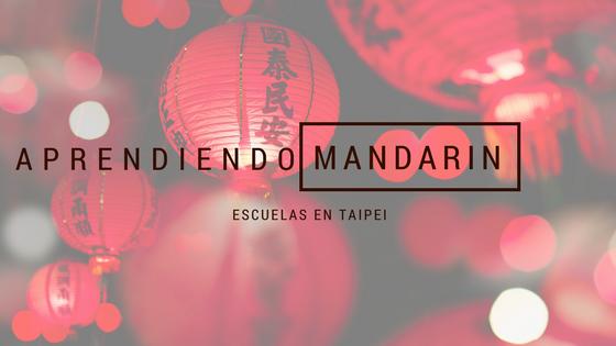 Aprendiendo Mandarin
